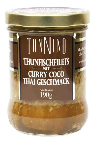 Tonnino Thunfischfilets Curry Coco Dockhorn